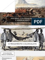 Racismo Colonialismo e Imperialismo