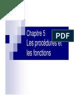 Les Proc_dures Et Les Fonctions ( Www.espace-etudiant.net )