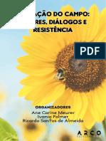 Livro eBook Saberes e Resistencias Miranda e Ana