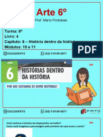 Aula 10 - Arte - 6º - Capítulo 6 - História Dentro Da História.