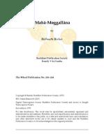 Life of Mahā-Moggallāna