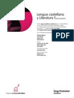LIBRO 1º Bach Santillana Edición de Alberto Blecua