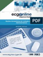 Noções Introdutórias de Licitação e Contratos Administrativos - Mód. 01