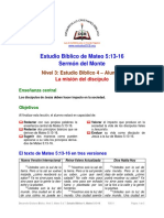 04. La misión del discípulo [Mateo 5.13-16] A