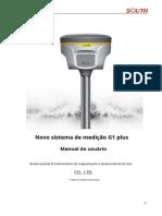 Manual Do Usuário GNSS South Galaxy G1plus - PtBr