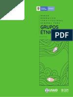 2. Marco Normativo y Constitucional Grupos Étnicos