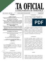Gaceta Oficial 42.124 Sumario