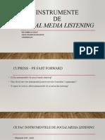 C8.2. Instrumente social media listening