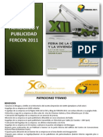 Plan de Patrocinios 2011