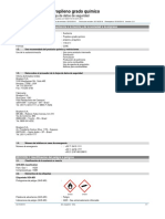 SDS Chemical Grade Propylene - ES MX
