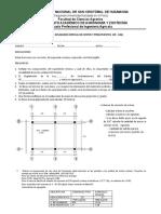Examen de Aplazados de Costos y Pto