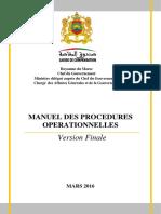 Manuel de Procedures Operationnelles