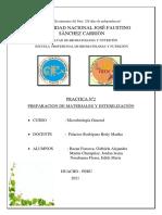 GRUPO 3 PRACTICA Nº2 de MICROBIOLOGIA Norabuena Flores Edith, Bazan Fonseca Gabriela y Martin Chumpitaz Jordan