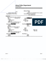 Ellensburg Police Agency Assist Report