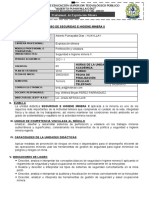SÍLABO DE SEGURIDAD E HIGENE MINERA II FIRME