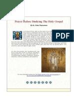 Gospel and Psalter (Archimandrite Lazarus Moore)