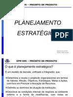Aula Planejamento estratégico Projeto de Produto
