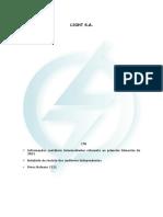 Demonstrativos Financeiros Do Resultado Da Light Do 1t21