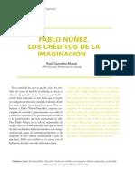 artículo PABLO NÚÑEZ