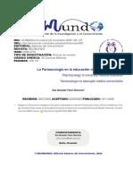 La Farmacología en La Educación Médica Universitaria