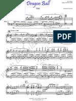 Dragon Ball-piano cover
