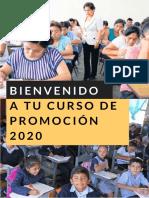 Curso de proceso de PROMOCIÓN (VERTICAL) 2020