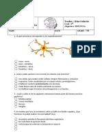 EXAMEN - BIOLOGIA-9 GRADO- 2 PERIODO