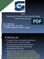 Sumbangan Tamadun Islam Dalam Bidang Sains Sosial