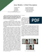 Point Distribution Models - A brief description