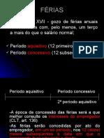 AULA 3  -  Férias