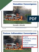 Materiales peligrosos en incendios