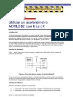 como utilizar un acelerometro ADXL202