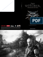 The Witcher PC US Manual