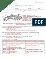 Corigé EMD Bio Cell 2018