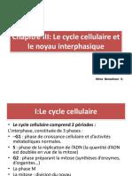 Le cycle cellulaire et le noyau  B5