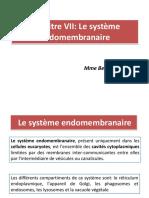 Chapitre VII Le Reticulum Endoplasmique Et Lappareil de Golgi B8