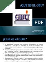 Qué es GBU 2011