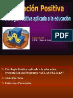 Psicologia Positiva Educativa
