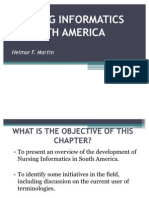 Nursing Informatics in South America