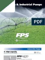 02 Catalogue Pompes - FPS Irrigation & Industriel