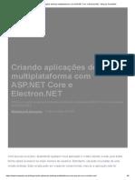 Criando Aplicações Desktop Multiplataforma Com ASP.net Core e Electron.net - Blog Da TreinaWeb