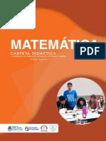 Carpeta Didáctica Matemática DIC