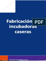 La fabricación de incubadoras caseras