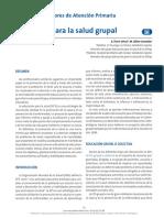 Educacion para la salud grupal