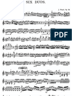 Pleyel Six Duos Violin 1