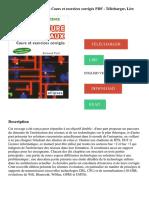 Architecture des réseaux _ Cours et exercices corrigés PDF - Télécharger, Lire (1)