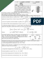 Compiti Esame Fisica Generale 2