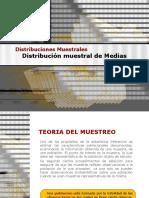 Distribucion Muestral de Medias