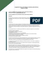 Control y regulación de la velocidad en motores asincrónicos trifásicos