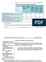 Work Immersion Module 4 Activities Worksheet